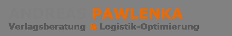Andreas Pawlenka Verlagsberatung und Logistik-Optimierung